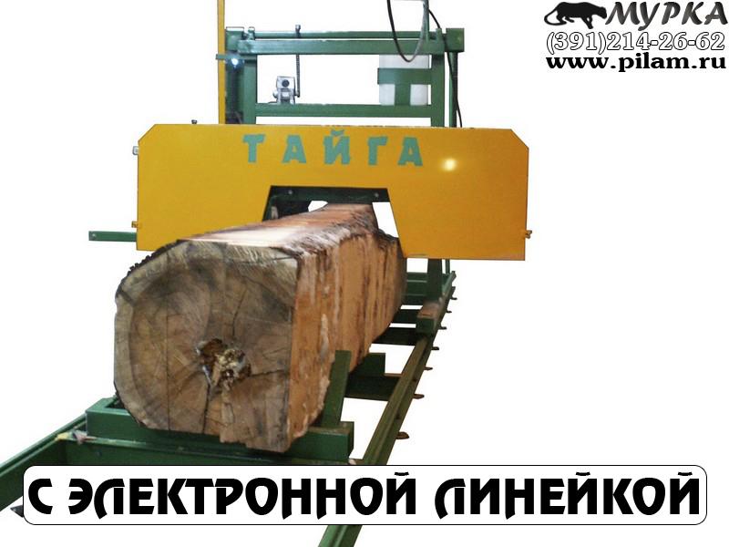 Ленточная пилорама Тайга Т4Л